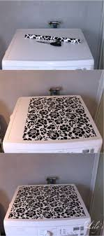 washer and dryer cover ups decorative magnetic reversable cloth laundry room washer dryer top