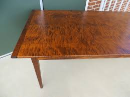 tiger maple wood kitchen cabinets tiger maple wood pennsylvania table great chairs