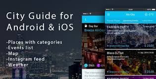 sky guide for android city app directory for android ios by noxonthemes codecanyon