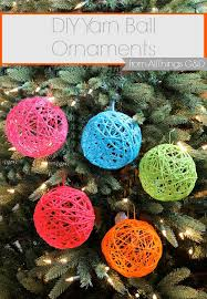 25 unique diy yarn ornaments ideas on styrofoam