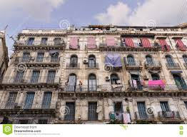 french colonial buildings in algiers algeria buildings are being