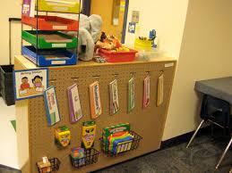 storage unit for writing materials classroom organization