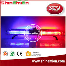 led security light bar new vehicle security light bars led emergency warning lightbar full