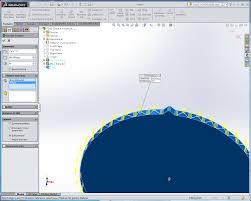 edit sketch pattern in solidworks making gears