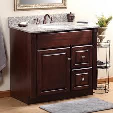 bathroom elegant dark ronbow vanities with simple amerock for