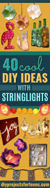 40 cool diy ideas with string lights diy projects for teens