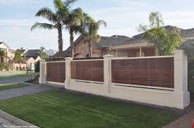 modern fence modern fence front house exterior design modern wooden fence