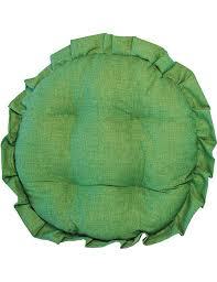 cuscini rotondi cuscini per sedie rotondi tinta unita made in italy