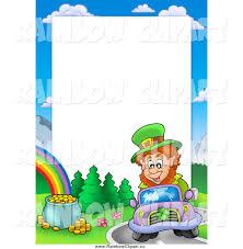 royalty free stock rainbow designs of borders