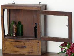 vintage bathroom storage ideas crafty design ideas vintage bathroom cabinet with mirror cabinets