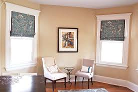 Printed Fabric Roman Shades - choose the best custom roman shades home design by larizza