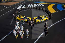 corvette racing live corvette racing ready to take on le mans but team already hurt by