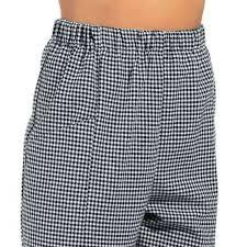 pantalon de cuisine pas cher pantalon de cuisine femme homme ceinture élastiquée
