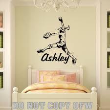 wall decor ebay shenra com name girl softball pitcher vinyl wall decal sticker decor ebay