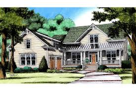 farmhouse plan country farmhouse plan with courtyard garage hwbdo77190