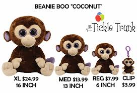 beanie boo coconut sizes tickle trunk kelowna balloon