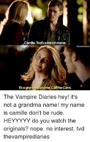 camille that s a french name wickedpriestess it s a grandma s name