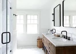 modern farmhouse bathroom lighting farmhouse bathroom modern farmhouse bathroom by creative ltd modern