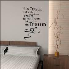 wandsprüche schlafzimmer ein traum ist unsere schönsten wandtattoos