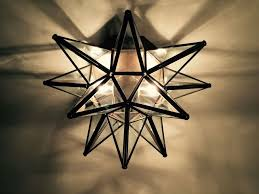 moravian star ceiling light moravian star ceiling light wall sconce 15 glass hand crafted