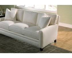 Thomasville Leather Sofa Quality by Mercer Large 3 Seat Sofa Track Arm Thomasville Furniture