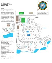 Map Rhode Island Camping In Rhode Island Melville Ponds Camp Map