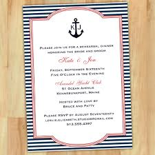nautical rehearsal dinner invitations marialonghi com