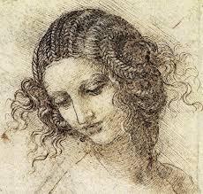 Leonardo Da Vinci Drapery Study For The Head Of Leda C 1506 Leonardo Da Vinci Wikiart Org