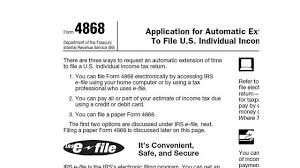 Irs Tax Estimate Forms by Printable 2014 Irs Form 4868 Automatic Extension Of To File