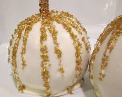gourmet candy apples wholesale special order favors candy apple 12 gold white black