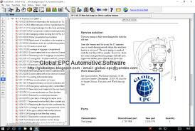 global epc automotive software scania multi epc parts catalogue