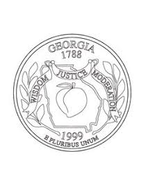 coloring pages quarter wyoming state quarter coloring page usa state quarters
