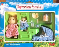Teddy Bears  Friends Sylvanian Families The New Arrival Set - Sylvanian families living room set