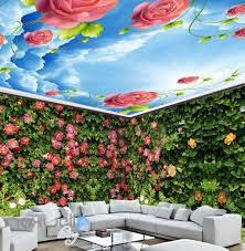 entire living room wall murals page 9 idecoroom 3d roses green wall entire room wall murals wallpaper paper decals art print decor idcqw