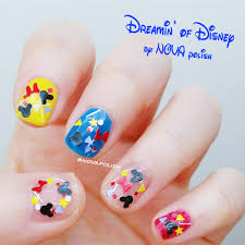 dreamin u0027 of disney by nova polish mickey nail polish