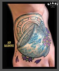 japanese tea cup tattoo by jack gallowtree best tattoo ideas gallery