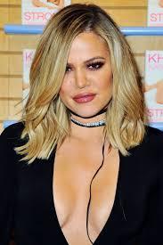 khloe kardashian got a bob so it looks like her short hair is