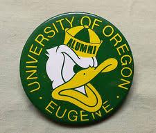 alumni pin oregon ducks ncaa fan pin buttons ebay