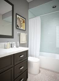 Glass Tile Bathroom Designs Bathroom Elegant Bathroom Design With Glass Shower Door And