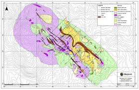 Map Radius Radius Gold Inc Holly Banderas Project Guatemala Banderas