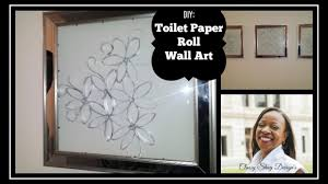 diy toilet paper roll mirrored frame art home decor youtube