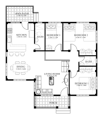 small house designs and floor plans small house designs series shd 2014006v2 eplans modern
