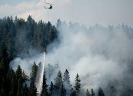 Wildfire Wedding Photos by Crews Make Quick Work Of Shields Fire In Spokane County The