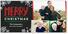 4x8 flat christmas cards shutterfly