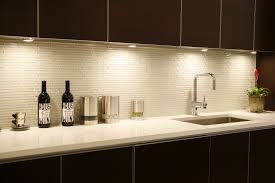 modern concept white glass tile with blend of polished and frosted