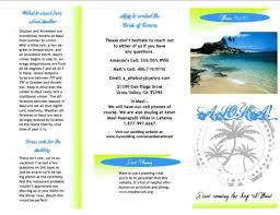 Destination Wedding Itinerary Template Pre Travel Brochure With Diy Luggage Tags Diy Forum Passport