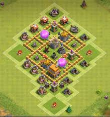 coc village layout level 5 7 best town hall th5 trophy bases anti giants 2018 new