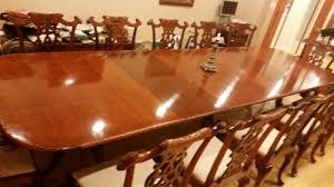 Chippendale Dining Room Furniture Chippendale Dining Room Table And Chairs Help