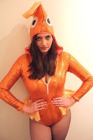 Goldfish Halloween Costume Halloween Photo Shoot U201csexy U201d Goldfish Geeky Hostess