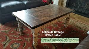 Cottage Coffee Table Sliding Barn Door Console Entertainment Centers Coffee Tables